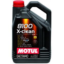 Motul 8100 X-clean 5W40 5л