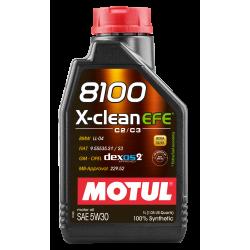 Motul 8100 X-clean EFE 5W30 1л