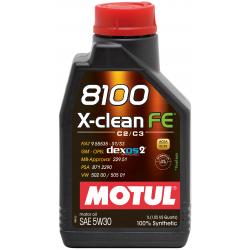 Motul 8100 X-clean FE 5W30 1л