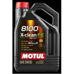 Motul 8100 X-clean FE 5W30 5л