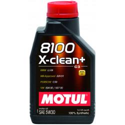 Motul 8100 X-clean + 5W30 1л