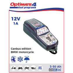 Зарядное устройство OptiMate 4 BMW ready /Canbus edition (1x1A, 12V)