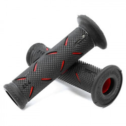 Ручки Progrip 717 22/25mm RED/BLACK BLISTER ROAD