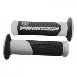Ручки Progrip 732 22/25mm GRAY/BLACK BLISTER ROAD