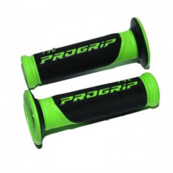 Ручки Progrip 732 22/25mm  GREEN FLUOR BLACK FLUOR