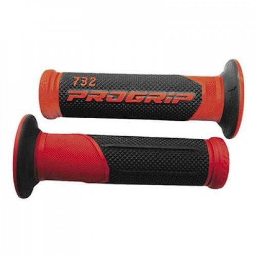 Ручки Progrip 732 22/25mm 732 RED/BLACK ROAD