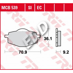 TRW MCB539