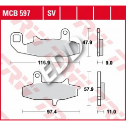 TRW MCB597