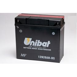 Аккумулятор UNIBAT 12N20AH-BS (12V, 20AH, 181 X 76 X 167)