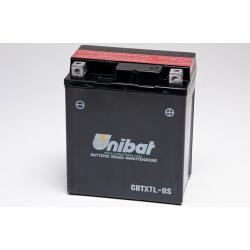 Аккумулятор UNIBAT CBTX7L-BS (12V, 6AH, 114 X 71 X 131), АНАЛОГ YUASA YTX7L-BS
