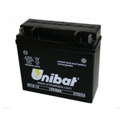 Аккумулятор UNIBAT CP18-12 (12V,20AH, 181 X 76 X 167)