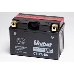 Аккумулятор UNIBAT CT12A-BS (12V, 10AH, 150 X 87 X 105), АНАЛОГ YUASA YT12A-BS