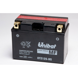 Аккумулятор UNIBAT CTZ12S-BS (12V,11AH, 150 X 87 X 110), АНАЛОГ YUASA YTZ12S