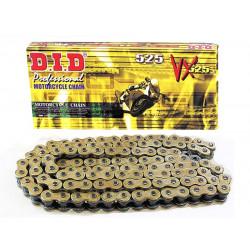[DID] Цепь VX 525 G&B 110 звеньев с замком-заклепкой, золотая