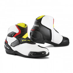 [TCX] Мотоботы ROADSTER 2 AIR, цвет Черный/Белый/Красный