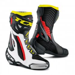 [TCX] Мотоботы RT-RACE PRO AIR, цвет Белый/Красный/Желтый