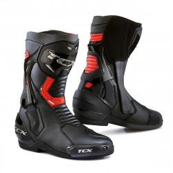 [TCX] Мотоботы ST FIGHTER, цвет Черный/Красный