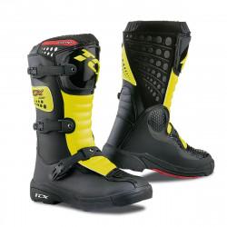 [TCX] Мотоботы COMP KID, цвет Черный/Желтый
