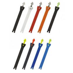 [TCX] Ремешок зубчатый для мотобот 12,5 см (S), цвет Черный/Серый