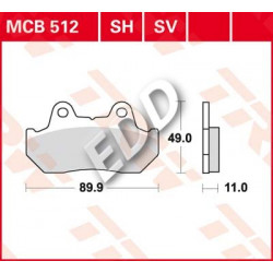 TRW MCB512SV